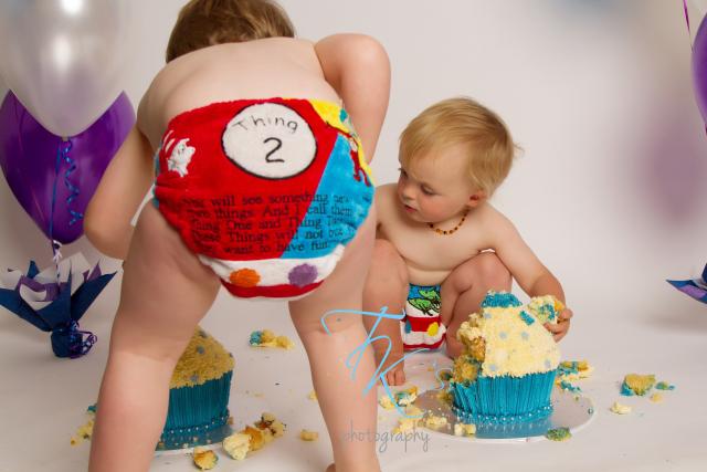 TK's Photography cake smash