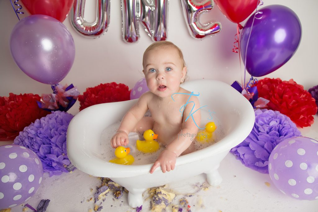 cake smash Launceston TK's Photography