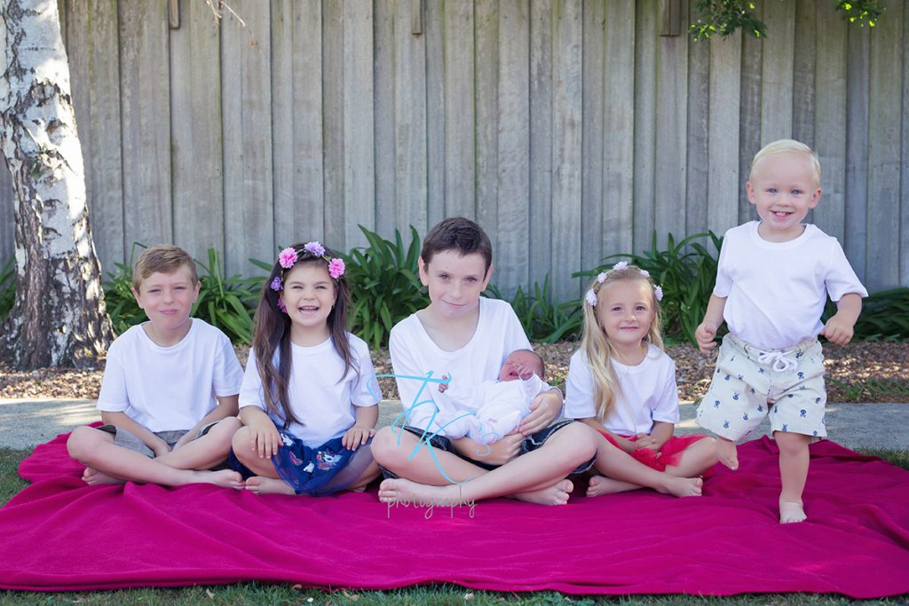 family six children Launceston