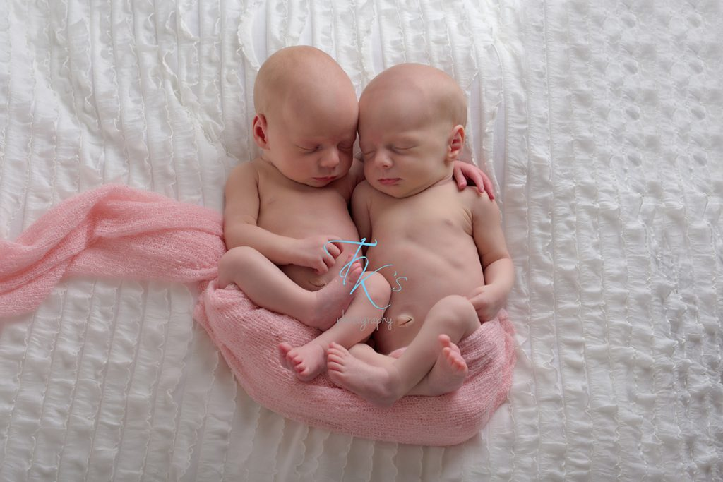 twin newborn photographer Launceston Tasmania TK's Photography