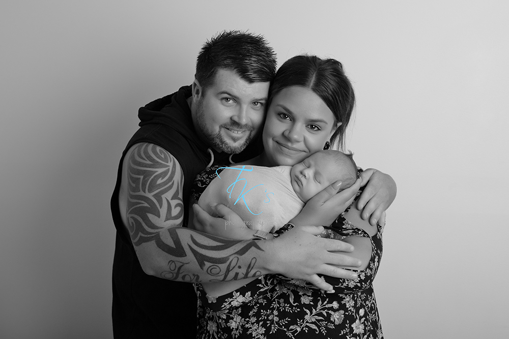 TK's Photography Launceston Kings Meadows Tasmania newborn photographer
