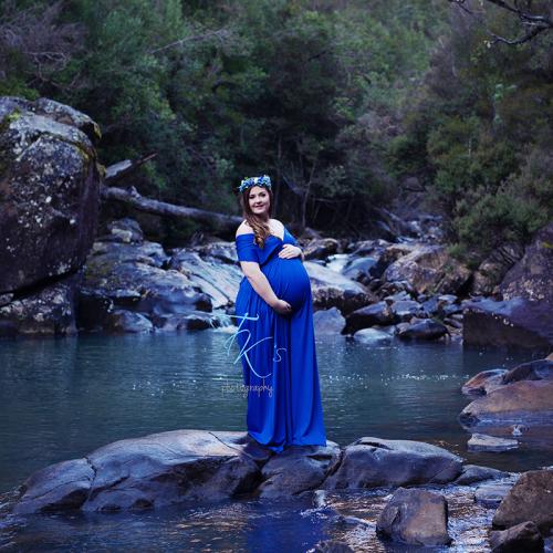 Thumbnail image for Ebonni's maternity shoot